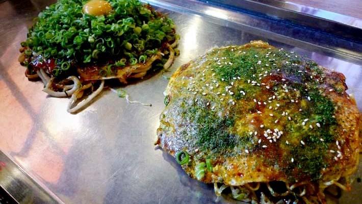 히로시마야끼 맛집 나가타야(長田屋)에서 주문하기!