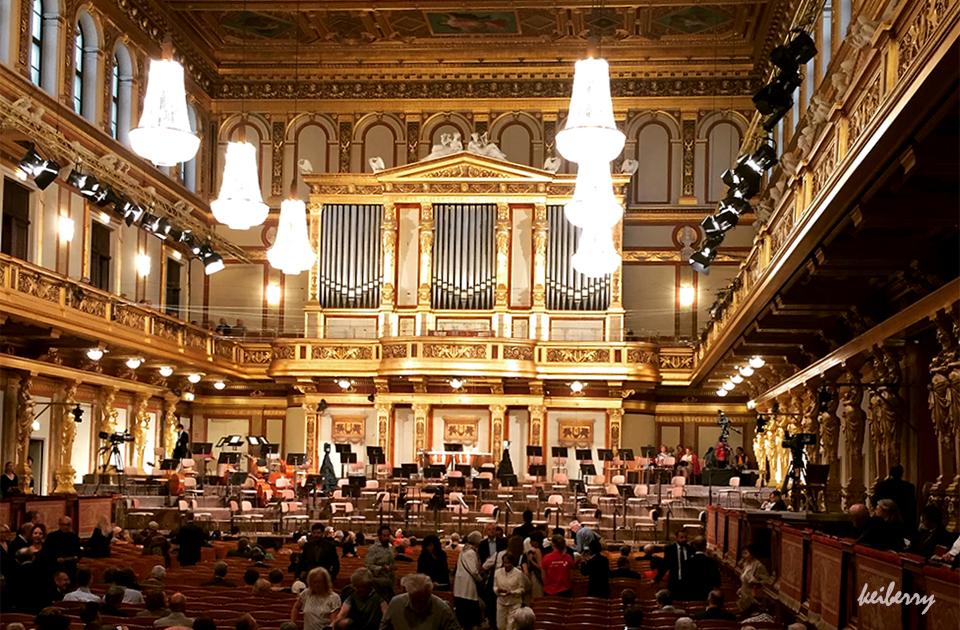 빈 무지크페라인 황금홀에서  오케스트라 공연보기, 예매방법